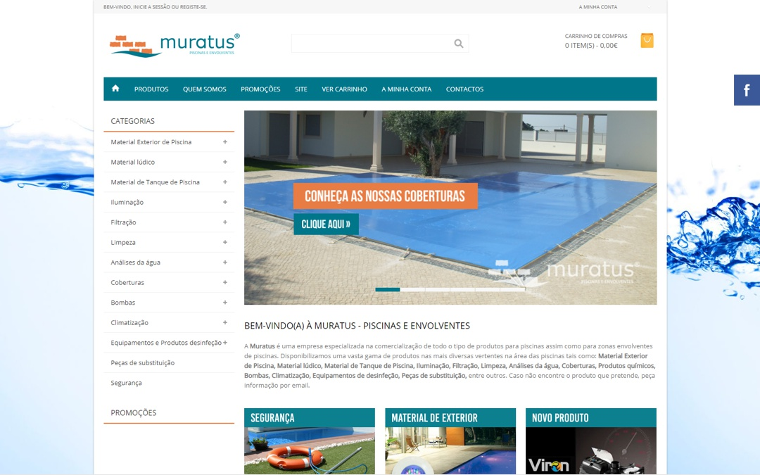 Lançamento da Loja Online lojaonline.muratus.pt