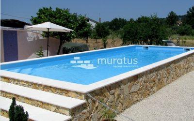 Quem disse que a piscina tem de ficar enterrada?