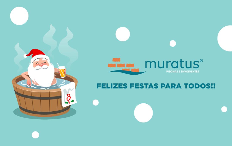 A Muratus deseja a todos umas boas festas!!!